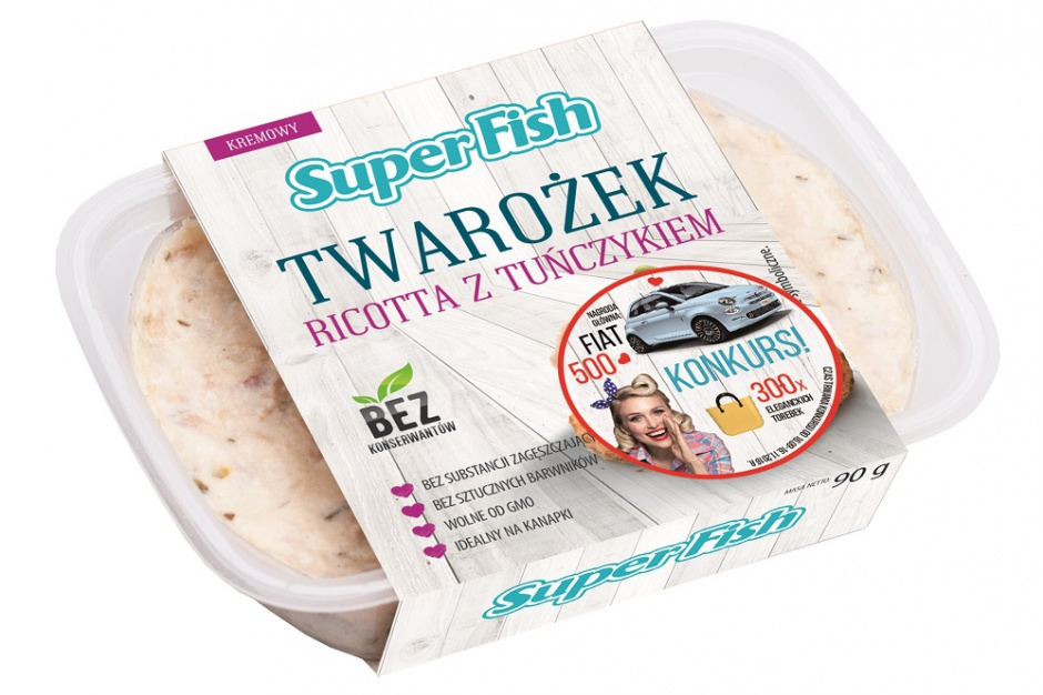 Konsumencki konkurs marki SuperFish