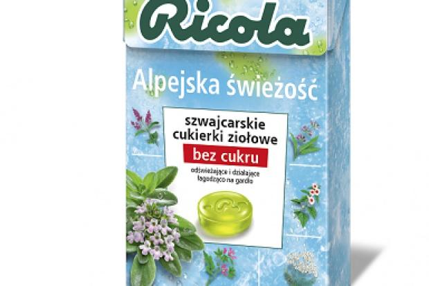 Ziołowe cukierki marki Ricola