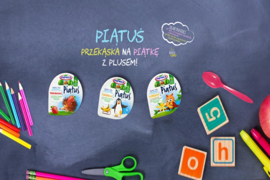 OSM Piątnica ruszyła z kampanią promocyjną jogurtu dla dzieci Piątuś