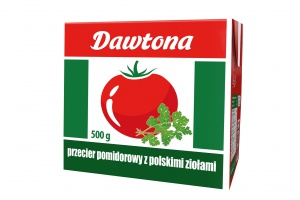 Przecier pomidorowy Dawtona w trzech odsłonach