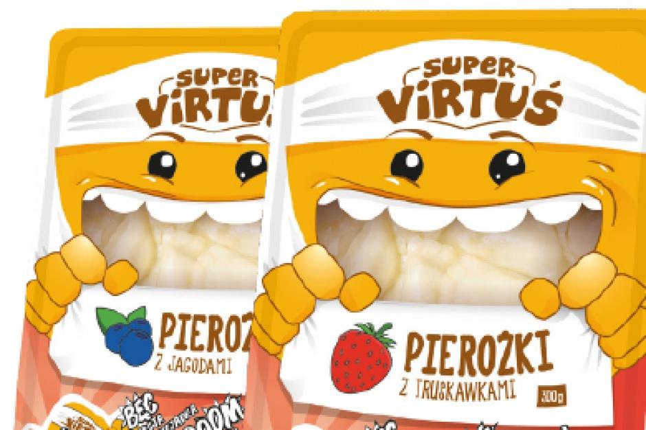 Super Virtusie – pierożki z owocami dla dzieci