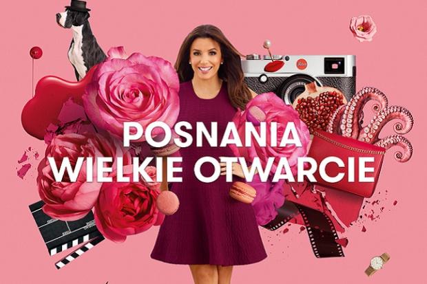 Eva Longoria reklamuje CH Posnania