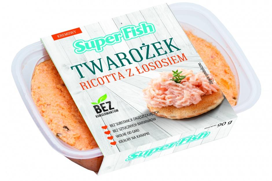 Twarożki ricotta z łososiem i tuńczykiem markiSuperFish