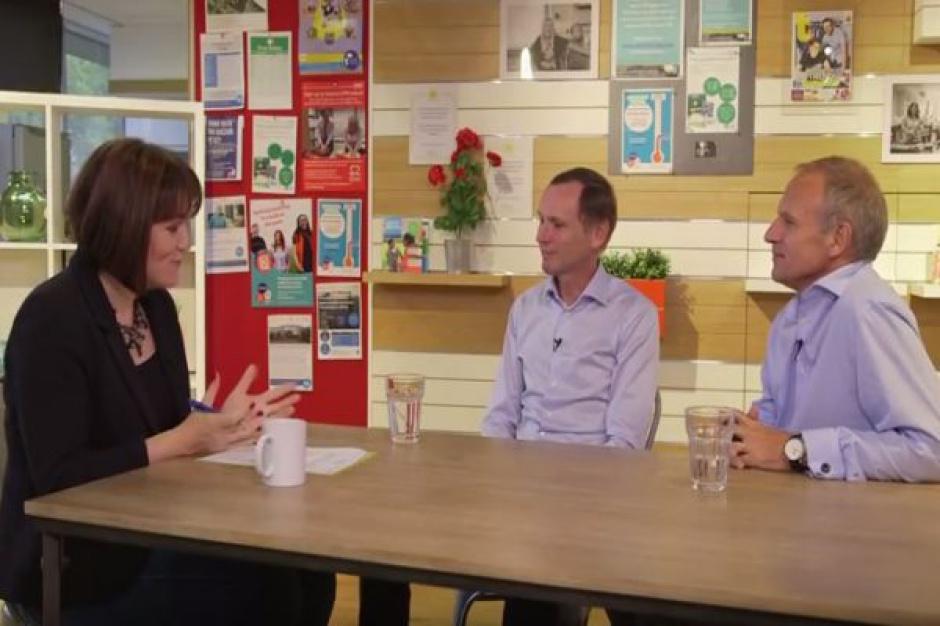 Dave Lewis i Alan Stewart omawiają wyniki Tesco (video)