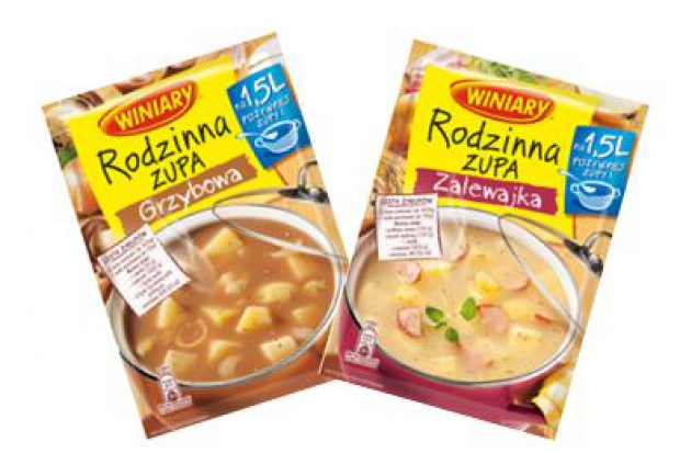 Nowe smaki zup od marki Winiary