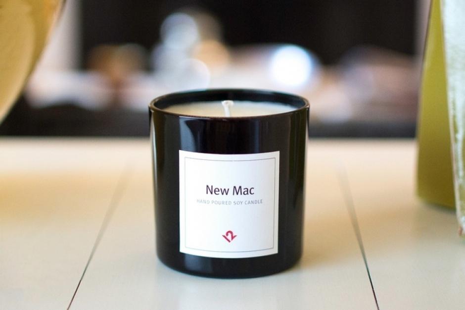 W sprzedaży pojawiły się świece o zapachu...MacBooka