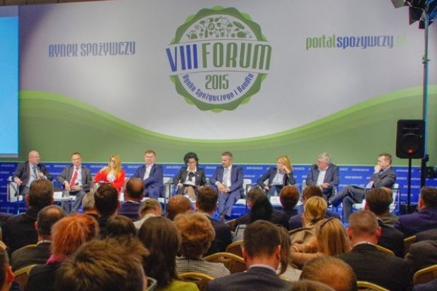 Prezesi, dyrektorzy i eksperci na IX Forum Rynku Spożywczego i Handlu