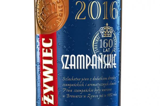 Limitowana edycja piwa Żywiec Szampańskie