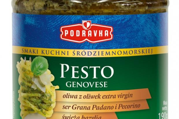 Pesto – nowe śródziemnomorskie produkty od Podravki