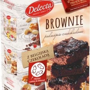 """Brownie – """"podwójnie czekoladowa"""" nowość od marki Delecta"""