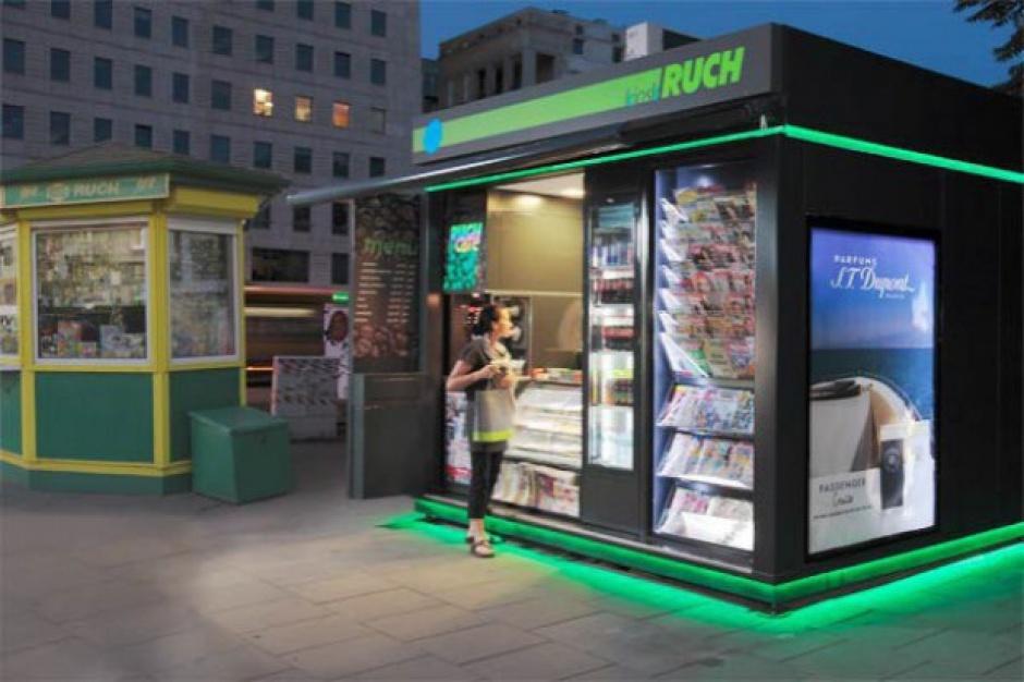 Klienci Poczty odbiorą paczki w 1700 kioskach i salonikach RUCH-u