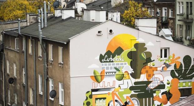 W Lublinie powstał mural inspirowany Cydrem Lubelskim