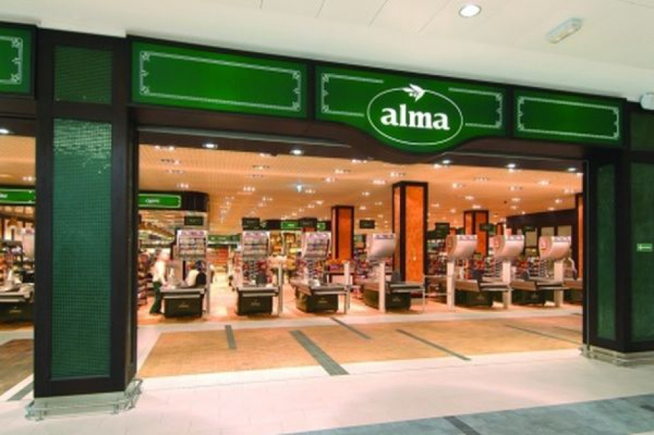Alma w 1 dzień zamyka 6 sklepów