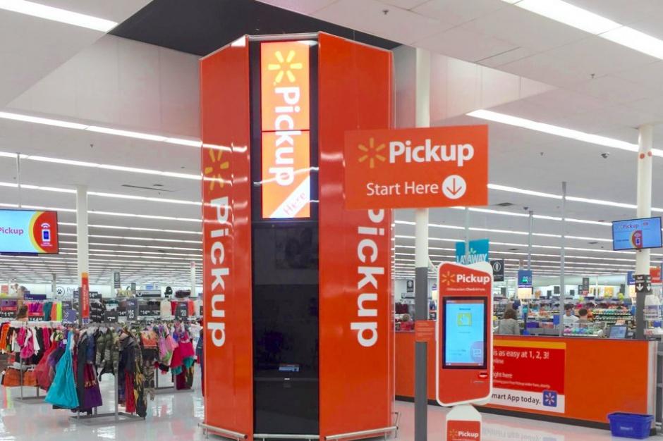 Walmart testuje nową technologię odbioru zakupów online