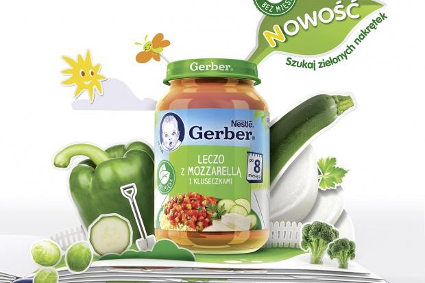 Nowa linia produktów Gerber bez mięsa