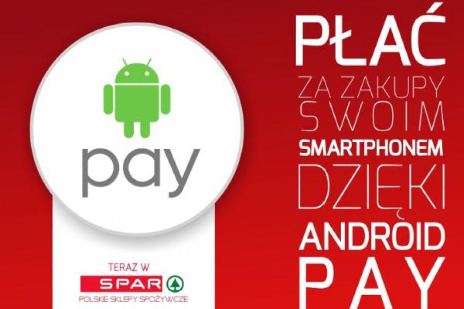 SPAR Polska partnerem wdrożenia Android Pay firmy Google