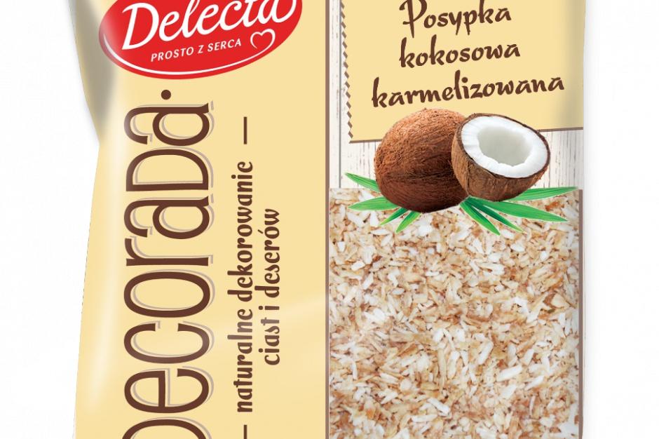 Nowe posypki do deserów od marki Delecta