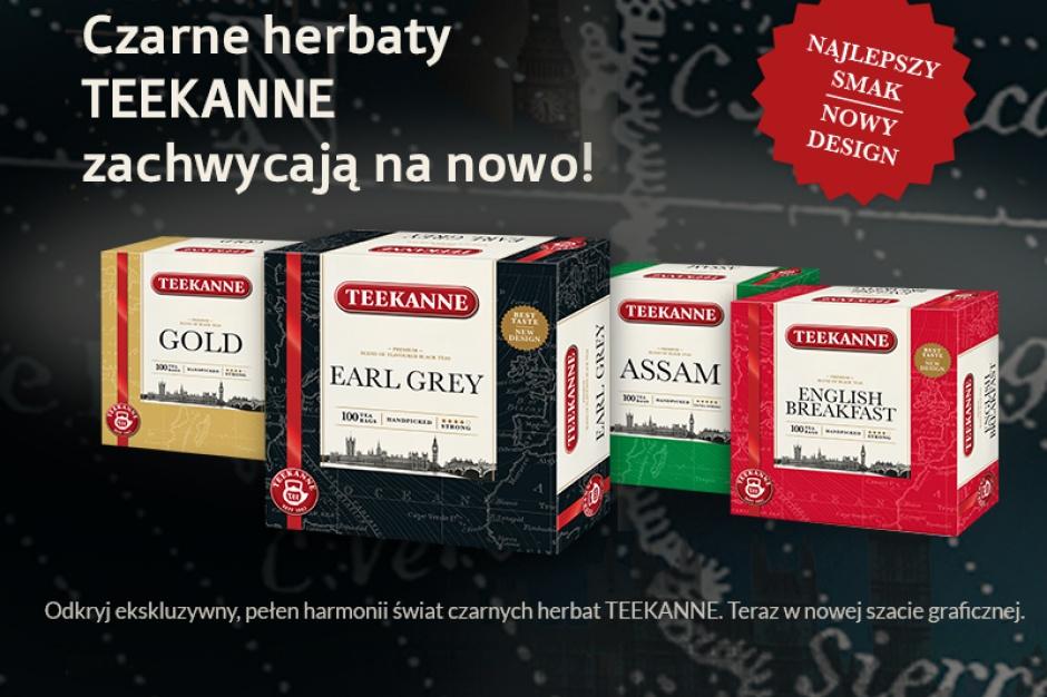 Czarne herbaty Teekanne w nowej odsłonie