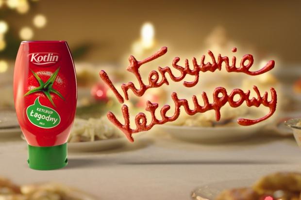 Świąteczna kampania ketchupu Kotlin