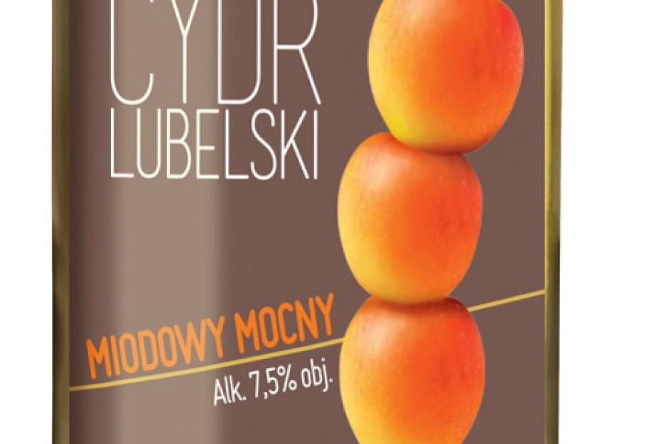 Cydr Lubelski Miodowy Mocny - pierwszy w Polsce mocny cydr