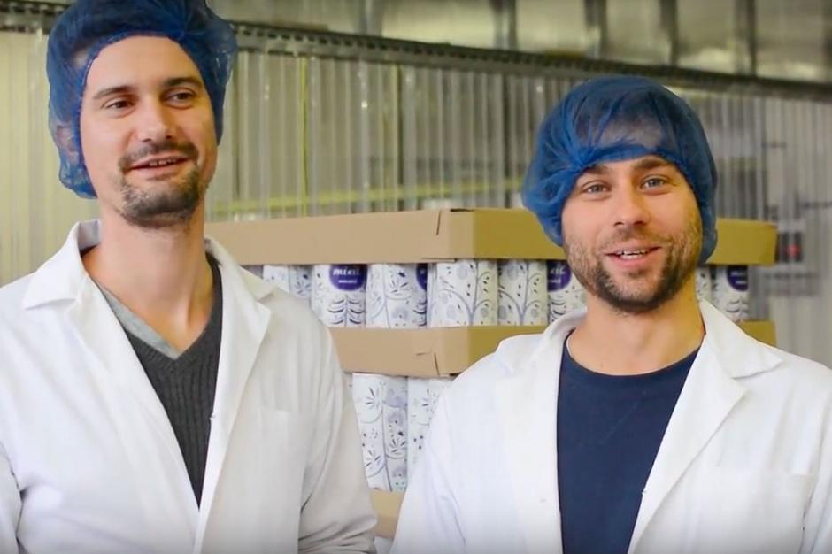 Szefowie spółki Mixit promują swoje produkty przed świętami