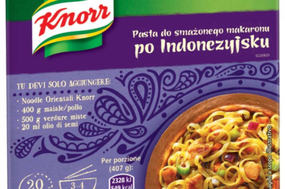 Knorr z nową, orientalną linią przypraw i sosów