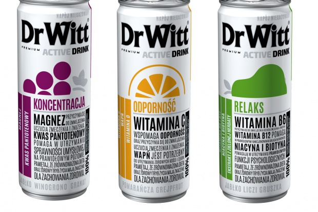 Funkcjonalne drinki witaminowe DrWitt