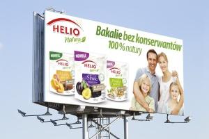 Świąteczna kampania reklamowa produktów Helio
