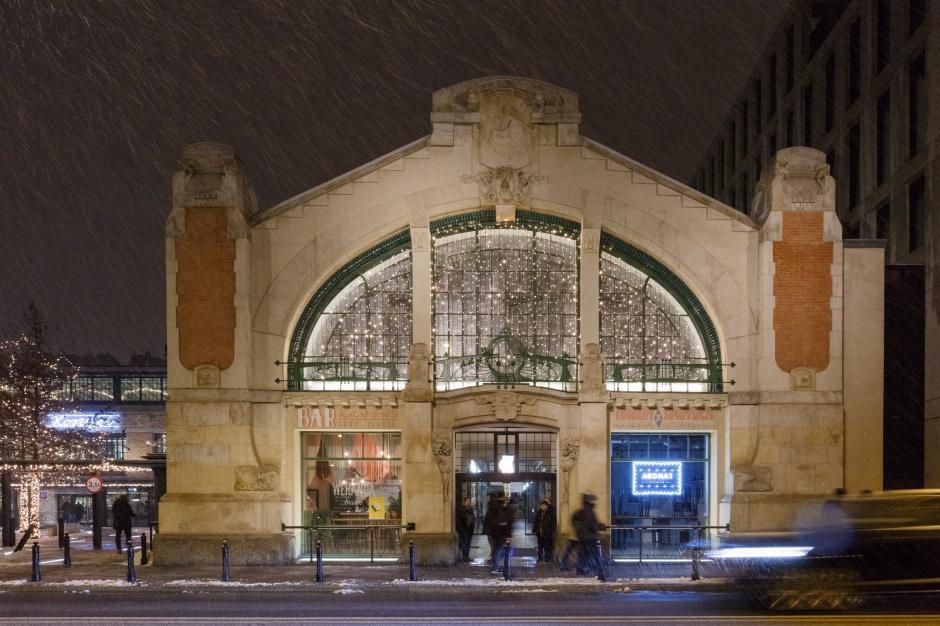 Philips Lighting oświetla zabytkową Halę Koszyki w Warszawie (zdjęcia)