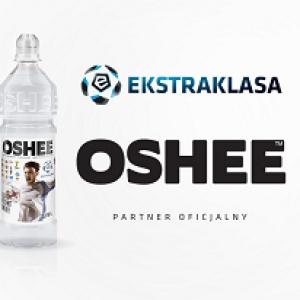 Napoje izotoniczne Oshee dla fanów Ekstraklasy