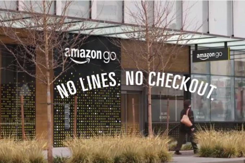 Amazon otwiera stacjonarny supermarket w którym nie ma kas (video)