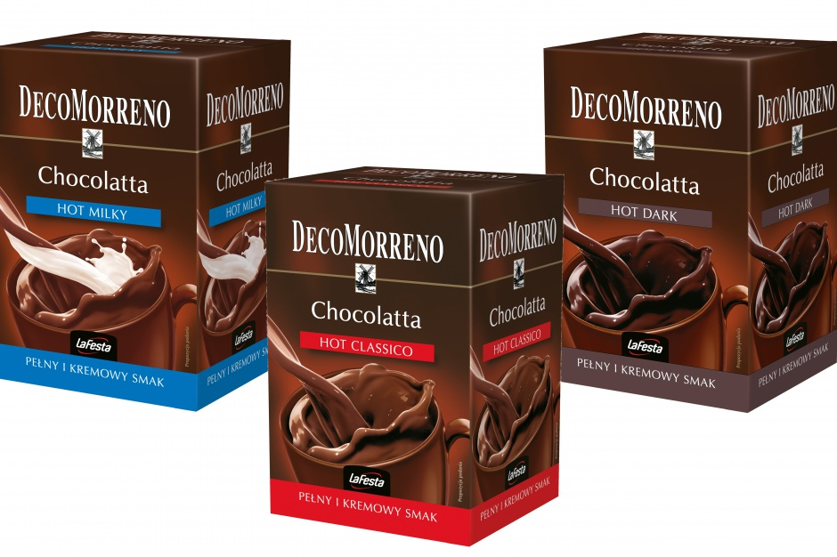 Chocolatta DecoMorreno w nowych opakowaniach