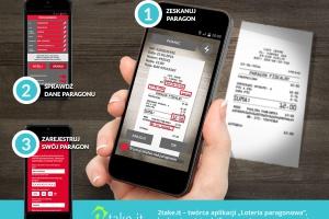 MF korzysta w loterii paragonowej z systemu lojalnościowego 2Take.it
