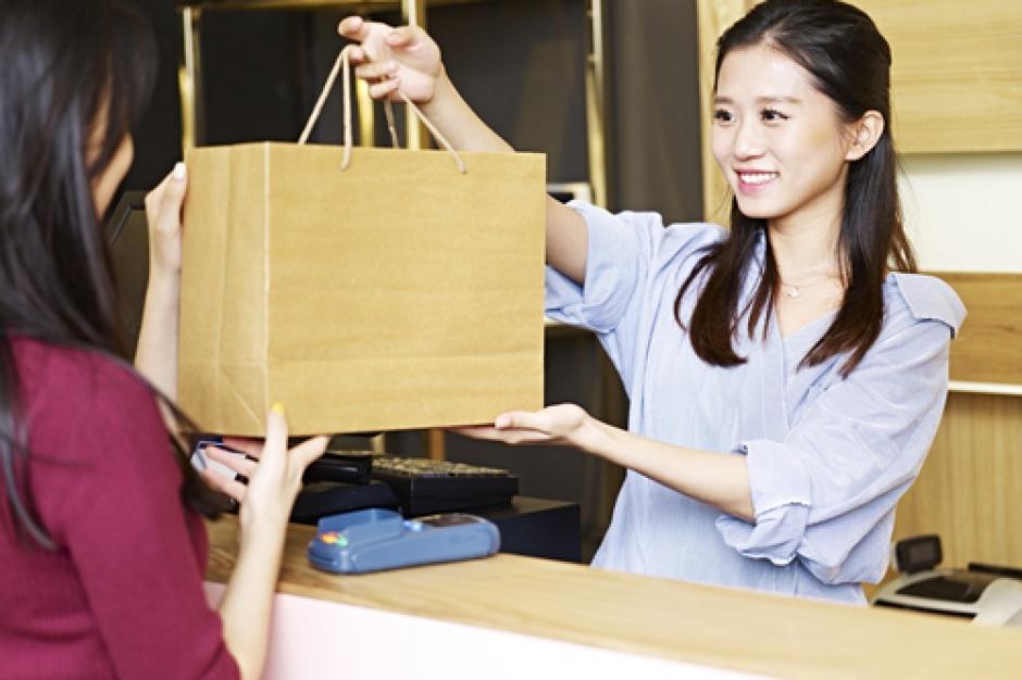 W Korei klienci mogą wybrać czy chcą być zaczepiani przez obsługę sklepu
