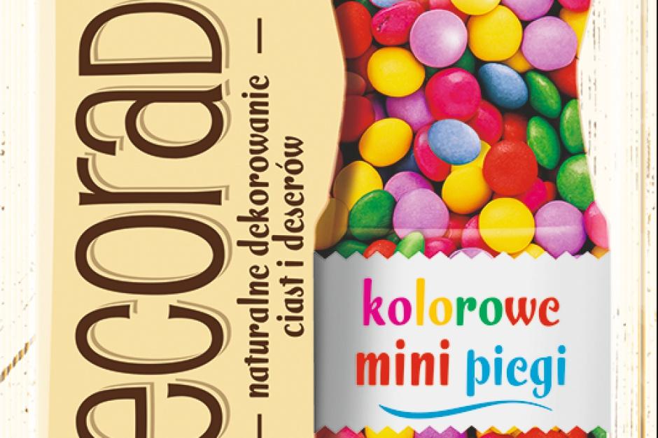 Kolorowe mini piegi od marki Delecta