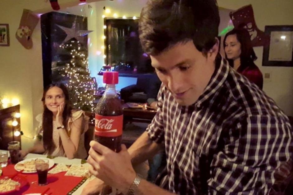 Elektroniczna nakrętka Coca-Coli przekaże wiadomość