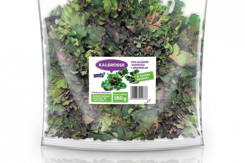 Kalerosse - nowe warzywo wkracza do polskiej kuchni dzięki marce Fit&Easy