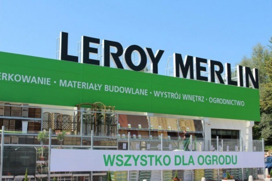 Sieć Leroy Merlin otworzyła w tym roku sześć sklepów