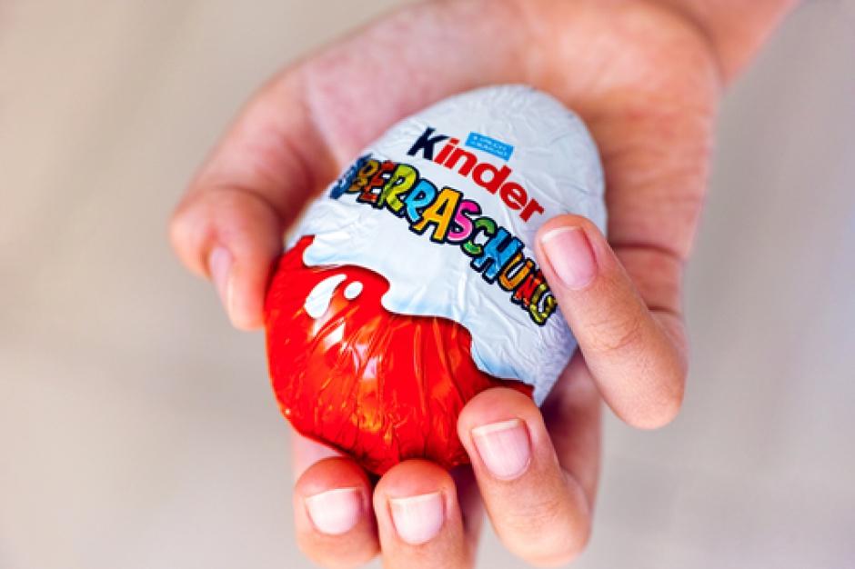Jajko Kinder Niespodzianka zakazane w USA