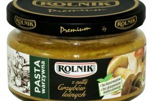 Pasty warzywne marki Rolnik