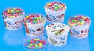 Jogurty HOHO z drażami kakaowymi od Mlekovity