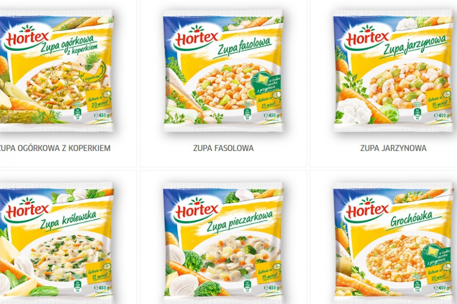 Trwa kampania reklamująca zupy mrożone Hortex