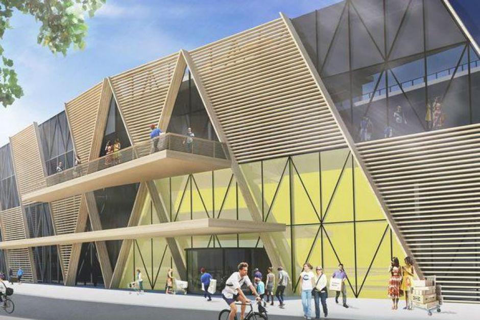 IKEA buduje eko-sklep - panele słoneczne, ogród na dachu i zbieranie wody deszczowej