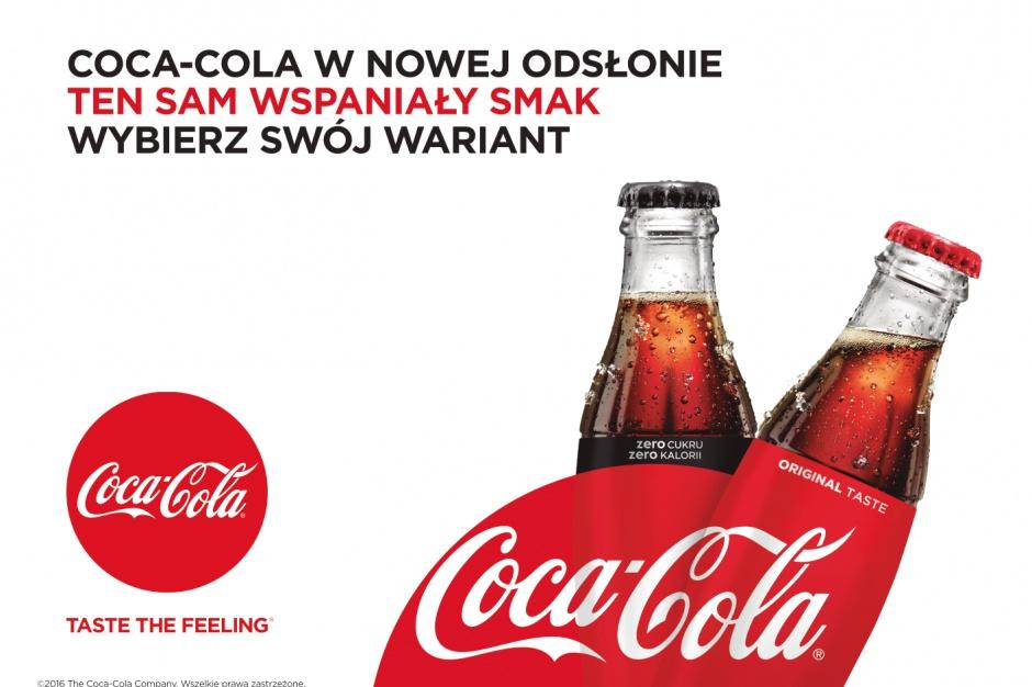 Coca-Cola ujednolica szatę graficzną i komunikację marketingową