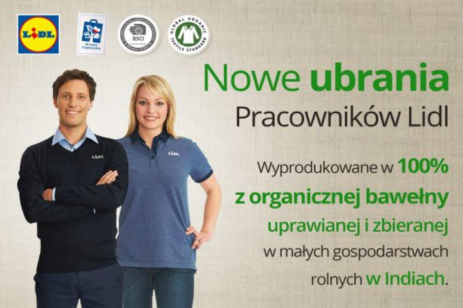 6,5 mln zł na nowe ubrania dla pracowników Lidla