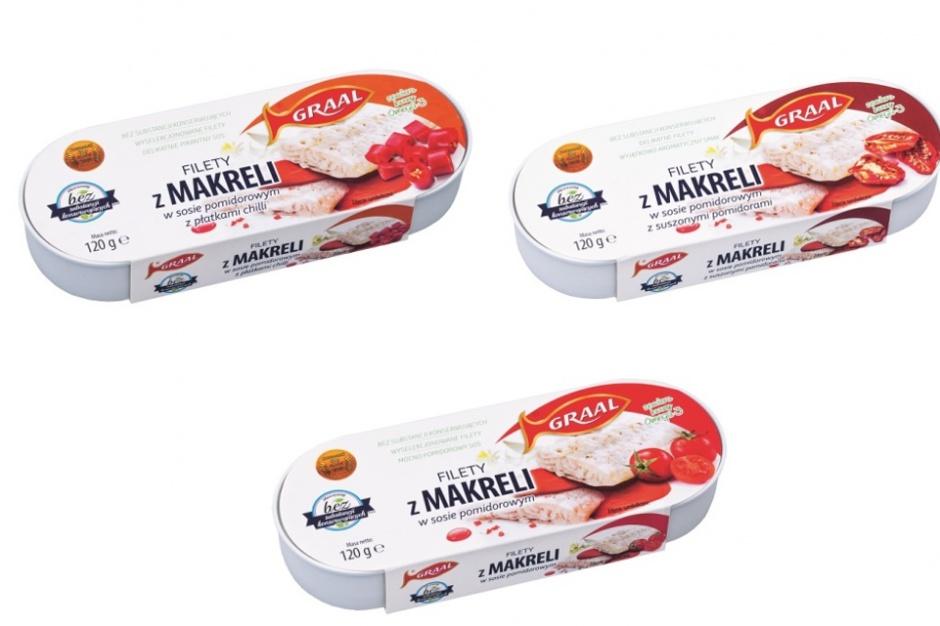 Makrela w puszce od marki Graal w nowych smakach