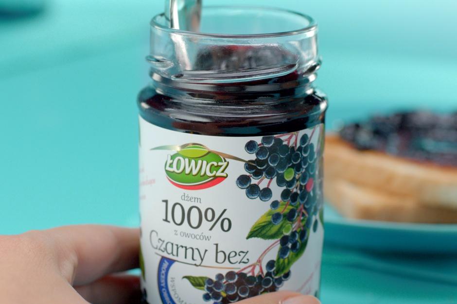 Dobroczynna moc owoców w kampanii marki Łowicz
