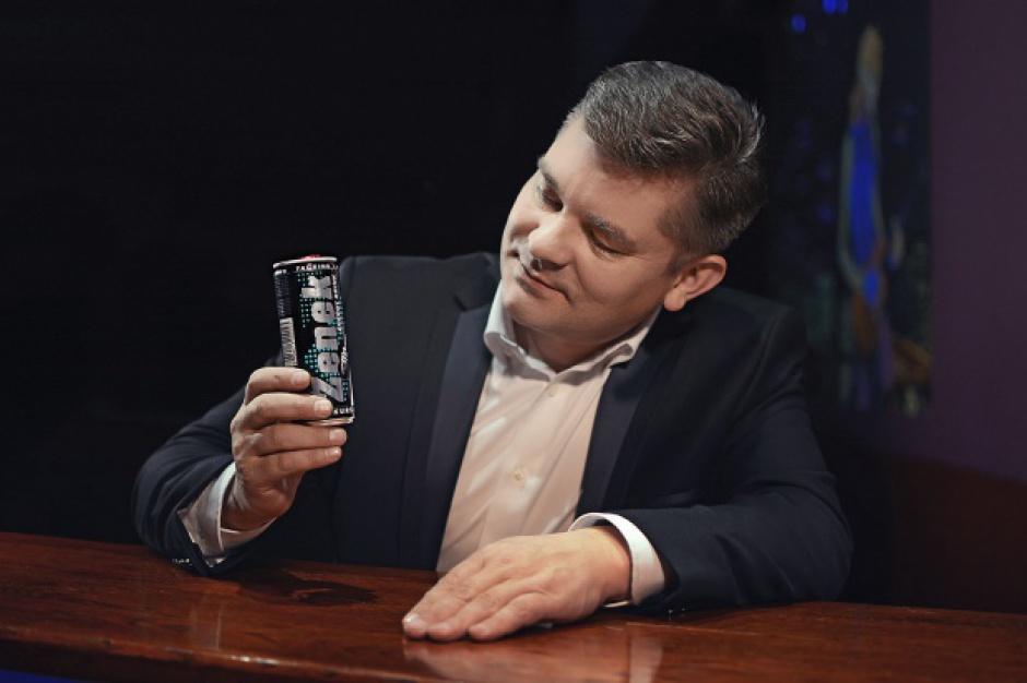 Zenon Martyniuk twarzą napoju Zenek Energy Drink
