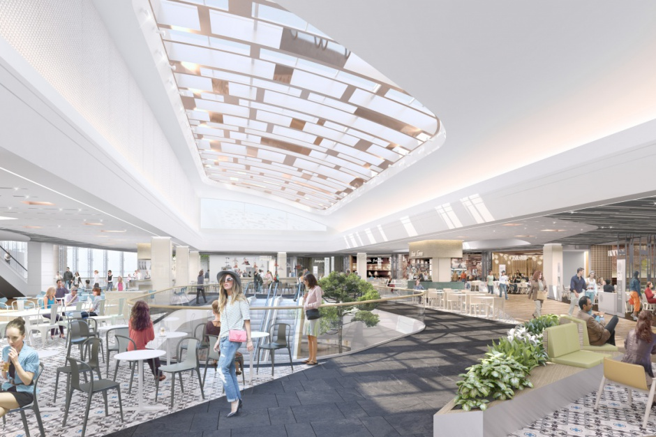 Zmiany w Arkadii: Nowa strefa restauracyjna miejscem spotkań (galeria)