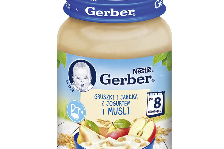 Nowe deserki marki Gerber